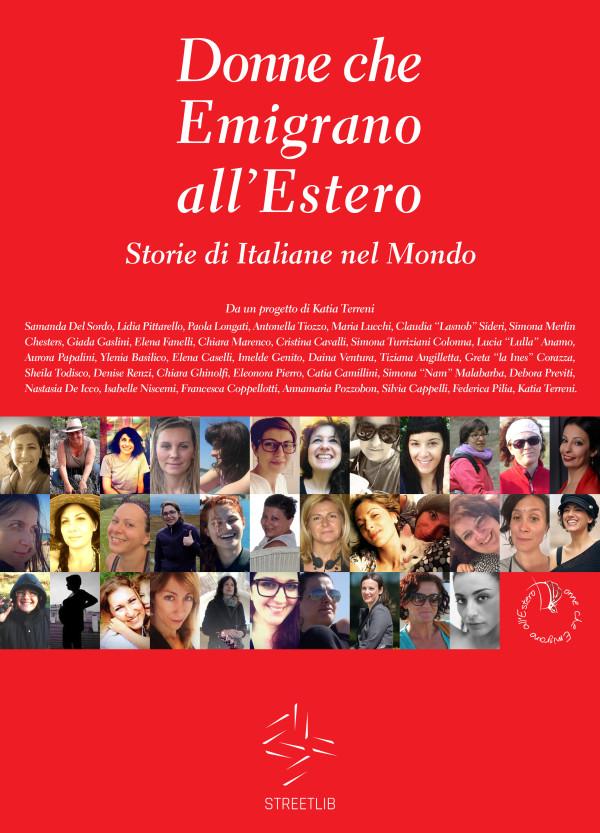 Donne che Emigrano all'Estero Copertina E-Book ed. 2015