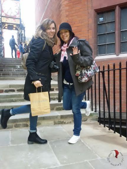 Katia con la sua amica Simona