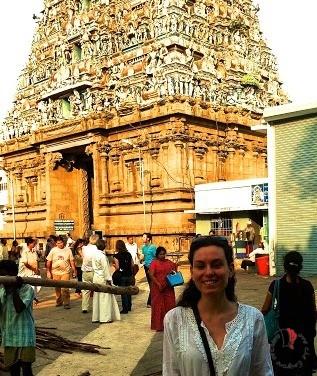 Alessandra in India