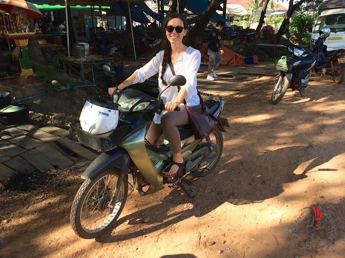 Alessandra in Laos