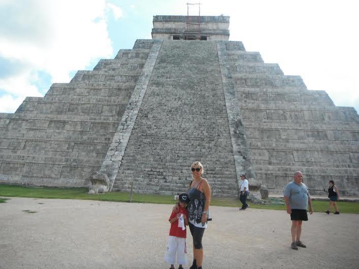 Daniela con figlio