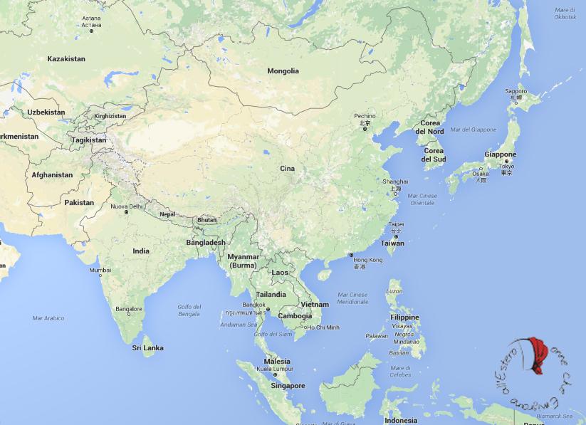 Cina Giappone Singapore