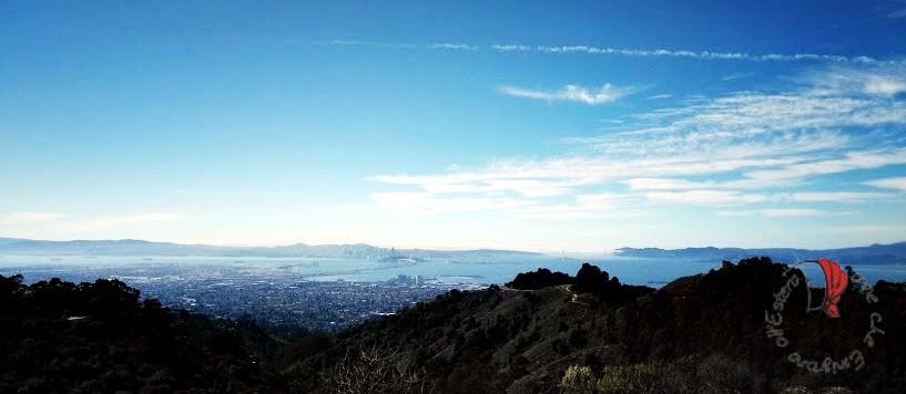 San Francisco vista dalla baia