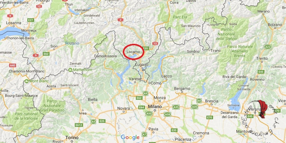 svizzera italiana mappa