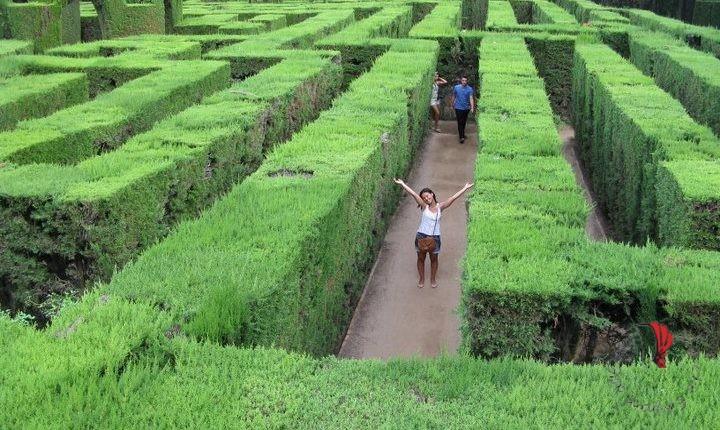 Escursione a labirinto di Horta