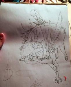 disegno-drago-kokedama