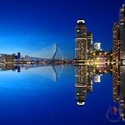 Rotterdam-porto-notte