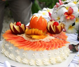 Copy of TROPICAL WEDDING CAKE