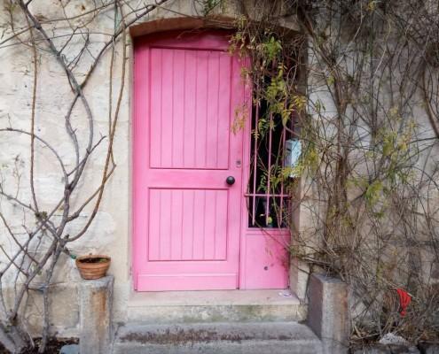 porta rosa bordeaux