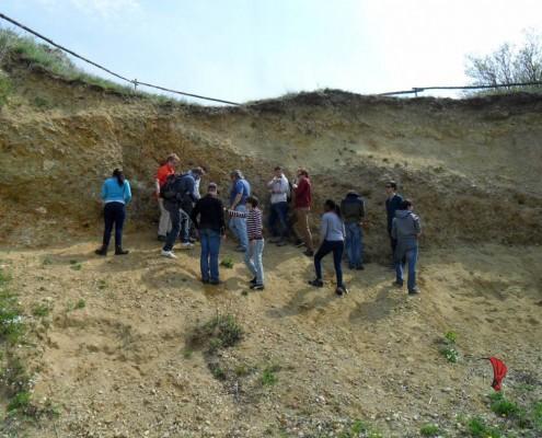 studenti e prof. in escursione