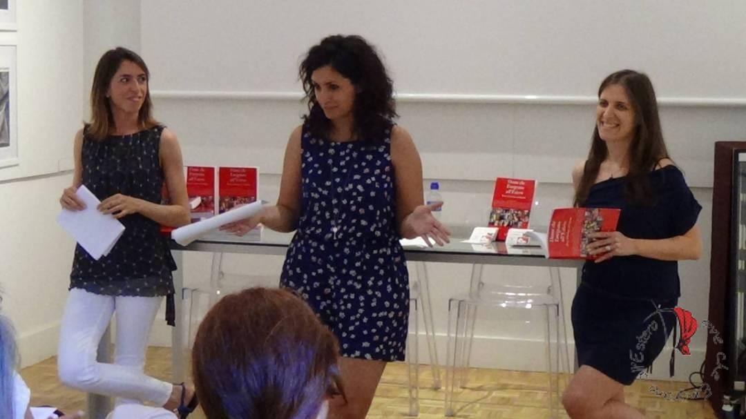 Durante la presentazione del Libro