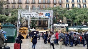 Barcellona- Cattedrale- Mercatino Natale