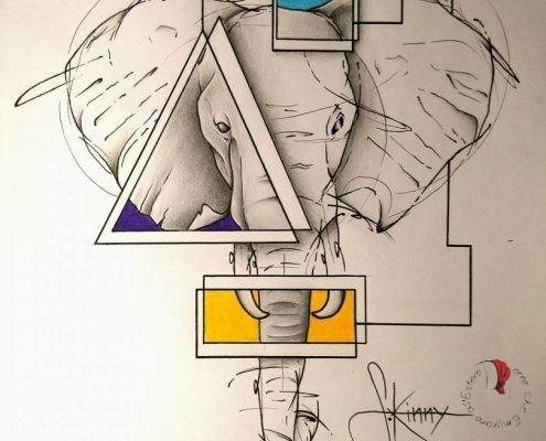 Dibujo S.kinny Ink