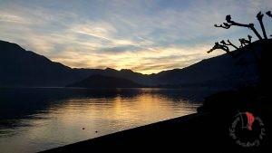 lago Como- tramonto- paesaggio