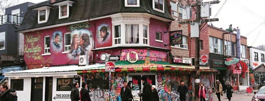 Toronto e i graffiti