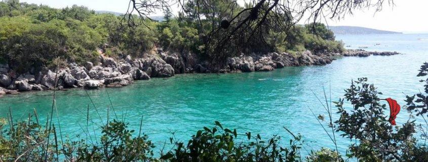 Krk - spiaggia