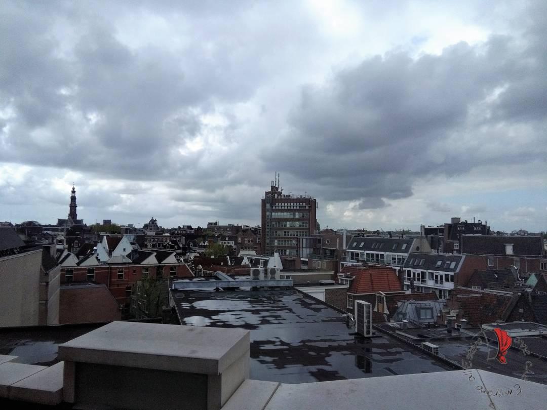 veduta della città di Amsterdam
