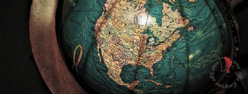 mappamondo per viaggiare