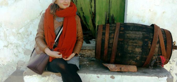 Anna in Algarve d'inverno