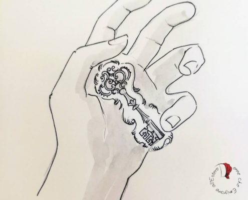 disegno-mano-chiave