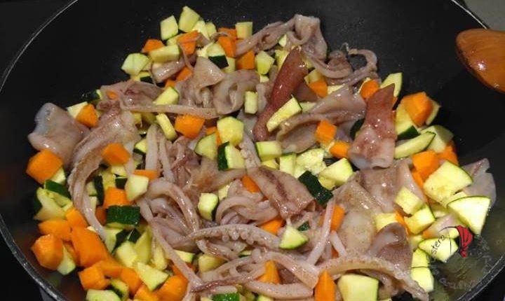 calamari-e-verdure