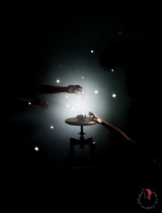 cielo stellato clessidra