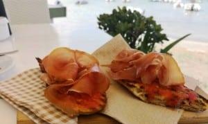 Colazione spagnola - Tostada con jamon