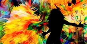 ragazza ballare