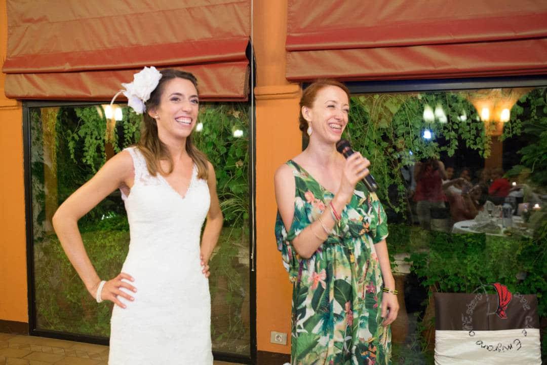 Amiche- matrimonio in Spagna
