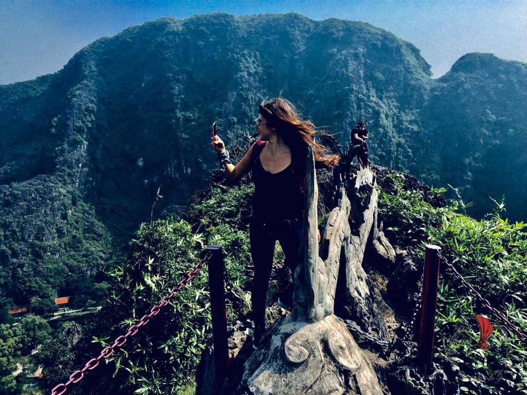 ragazza vietnam foto panorama