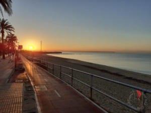 sole nasce mare