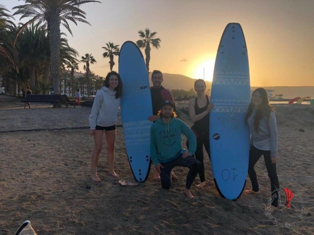 ragazzi surf expat