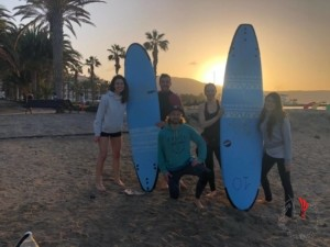 ragazzi surf