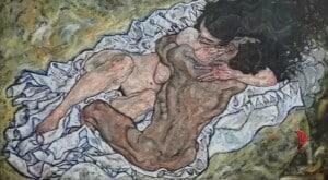 Abbraccio- Schiele