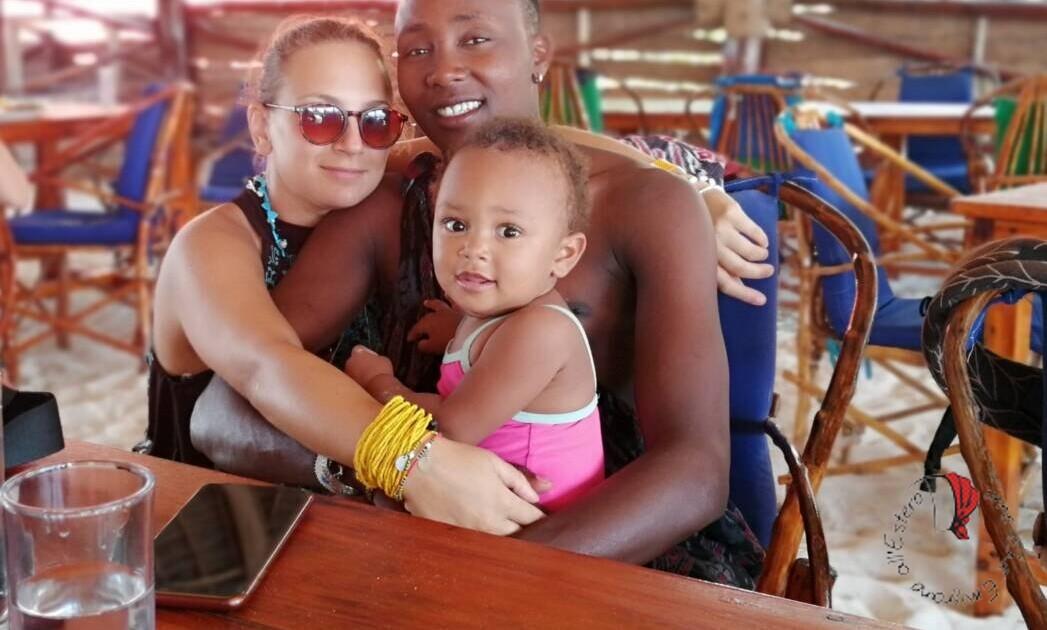Ilaria con la sua famiglia