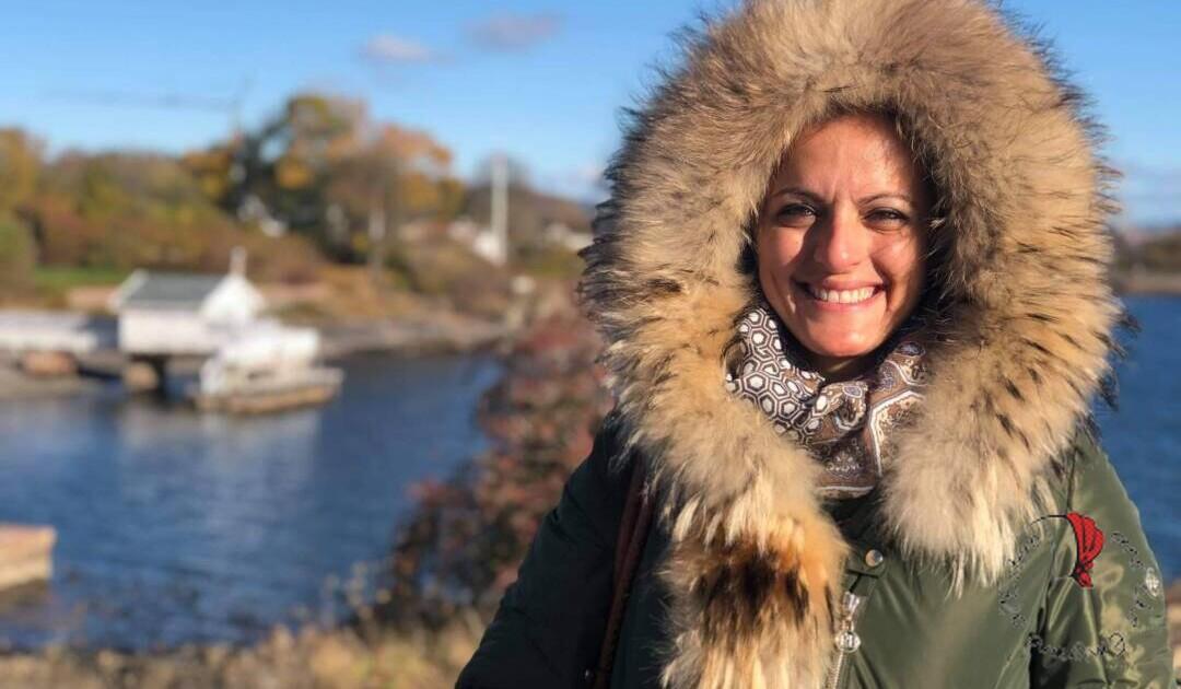 Anita a Oslo