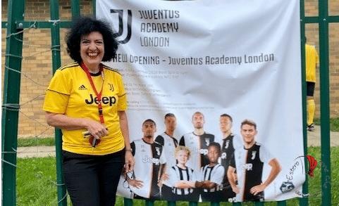 Elena a Londra, Juventus Club