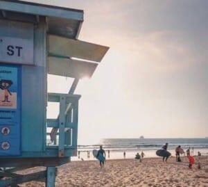 spiaggia LA
