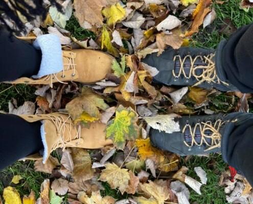 piedi-foglie