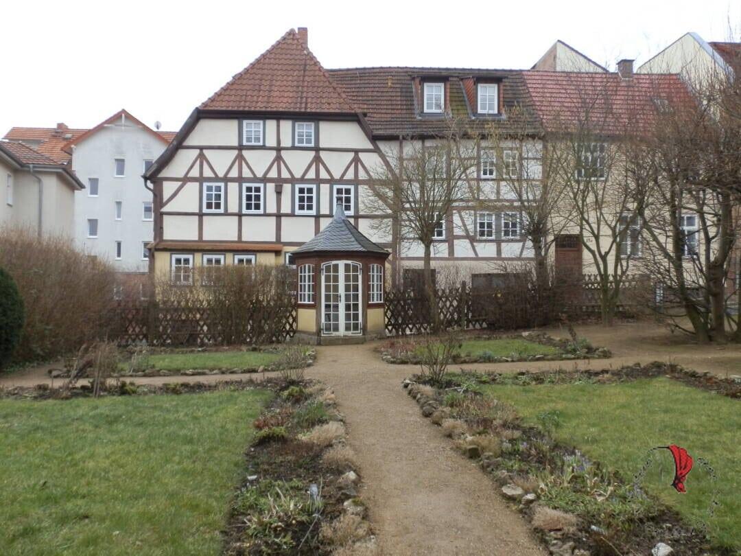 giardino casa di Bach