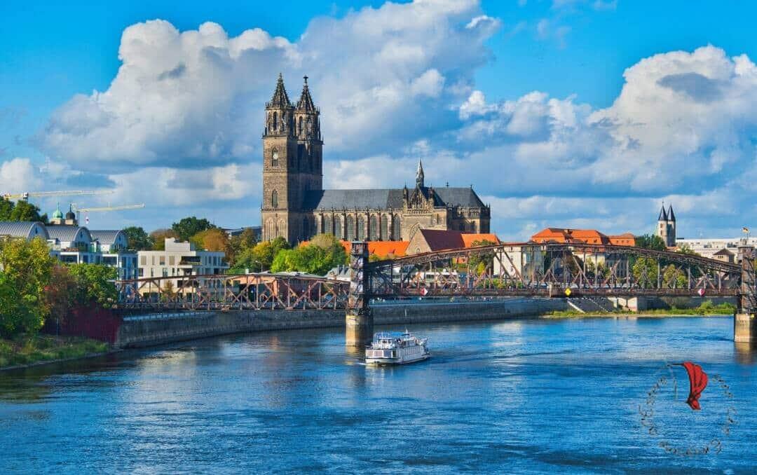 panorama Magdeburgo