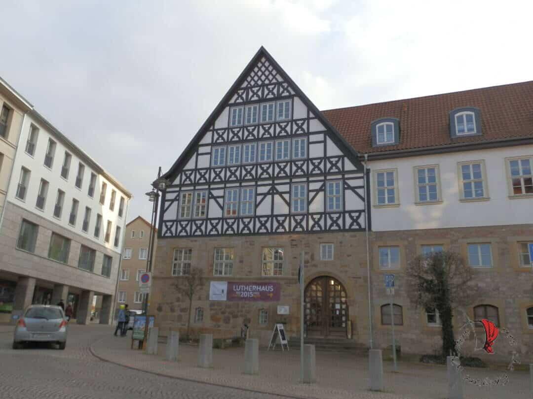Fachwerkhäuser in Germania